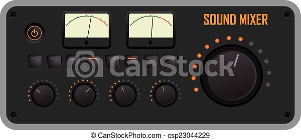 Sound mixer - csp23044229