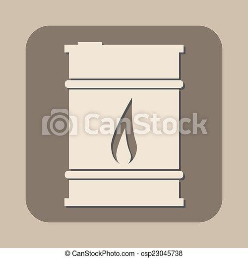 Oil Barrel Drawing Vector Oil Barrel Vector
