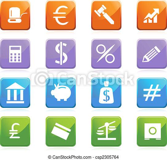 banking square set - csp2305764