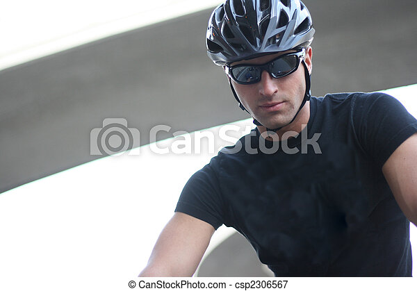 Professional Cyclist - csp2306567