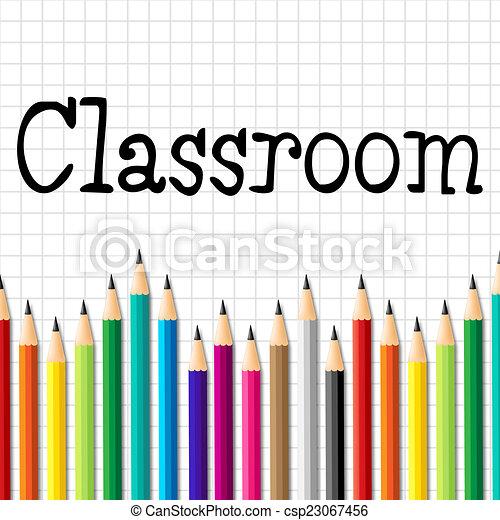 Banco de ilustra es de sala aula l pis representa for Sala de estar 3x5