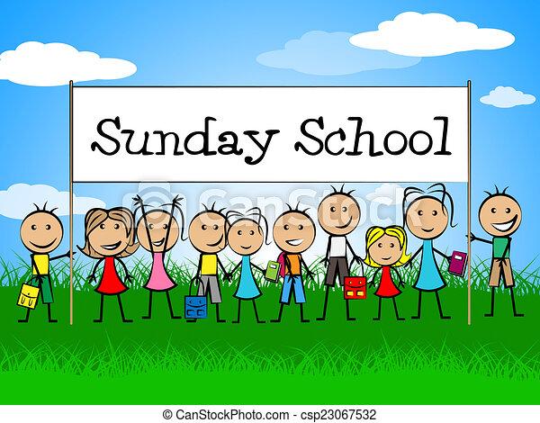Sunday school Illustrations and Stock Art. 268 Sunday school ...