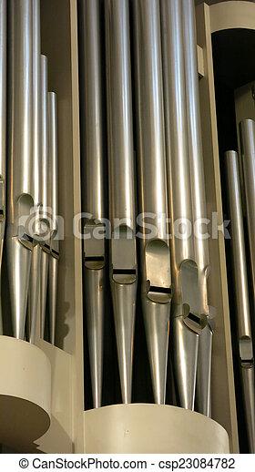細節, 器官, 教堂 - csp23084782