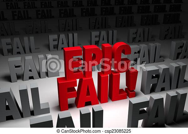 Epic Fail Clipart Epic Fail Csp23085225