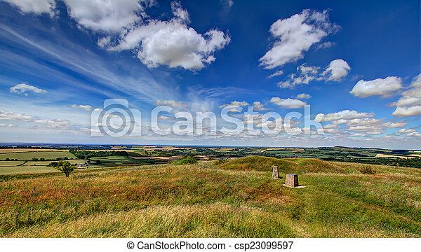 View from Old Winchester Hill - csp23099597