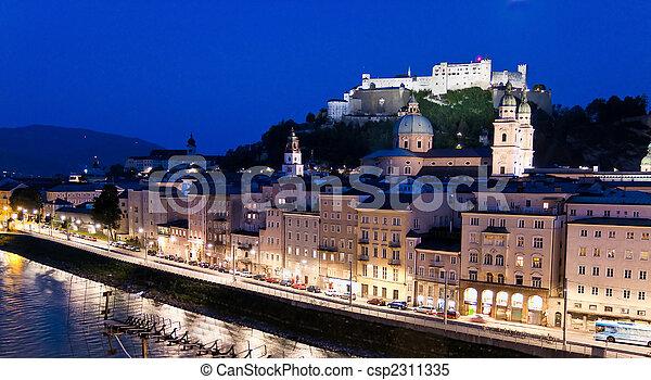 Austria, Salzburg, Festung Hohensalzburg - csp2311335