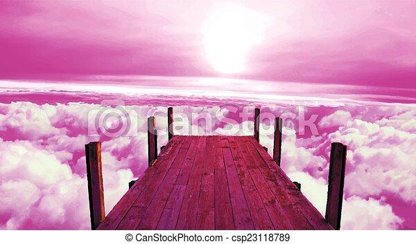 above the sky - csp23118789