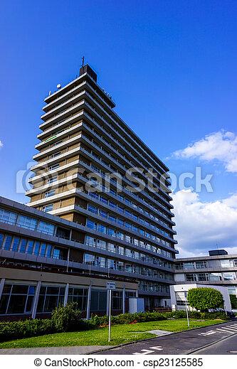 Modern hospital. hospital building. Medical Center