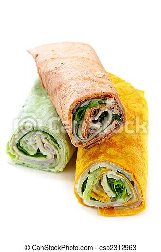Wrap sandwiches - csp2312963