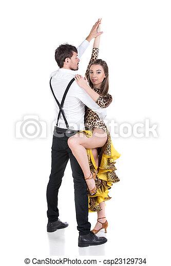 profesional bailarines hermoso