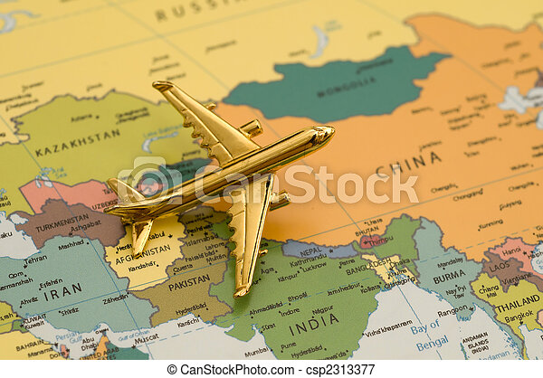 Plane Heading to China