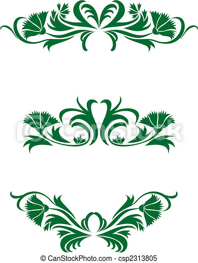 Floral decorations - csp2313805
