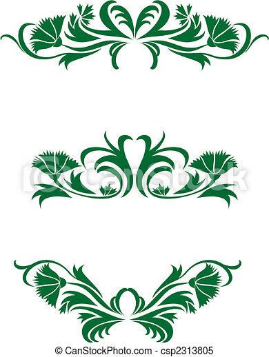 Floral decorations - csp2313805