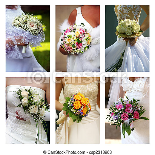 Wedding bouquets - csp2313983