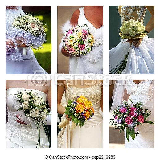 Wedding bouquets - csp2313983
