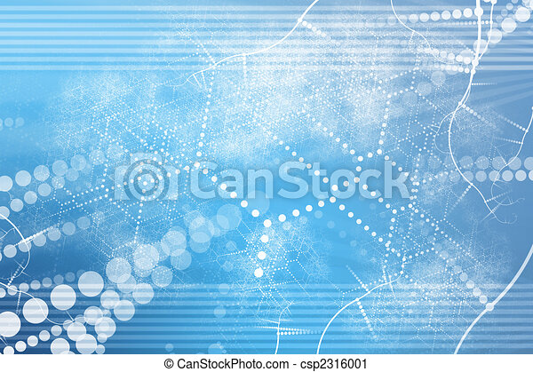 Technology Industrial Network Abstract - csp2316001