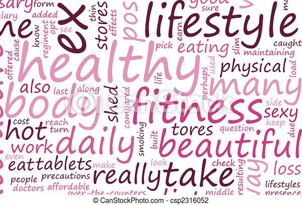 Healthy Lifestyle - csp2316052