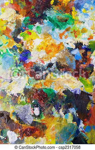 芸術, 色, 背景 - csp2317058