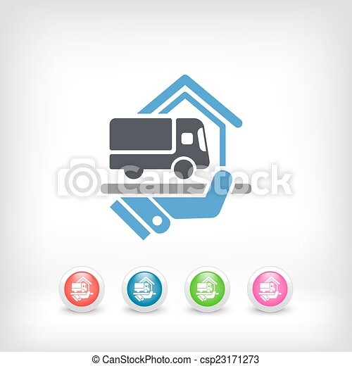 Home delivery service - csp23171273