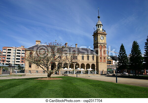 Customs House - Newcastle Australia. A historic landmark - csp2317704