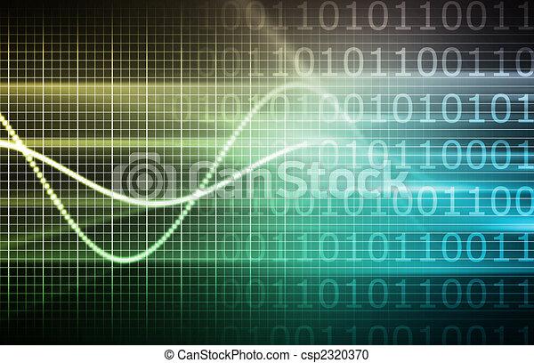 Cyber Futuristic Background - csp2320370