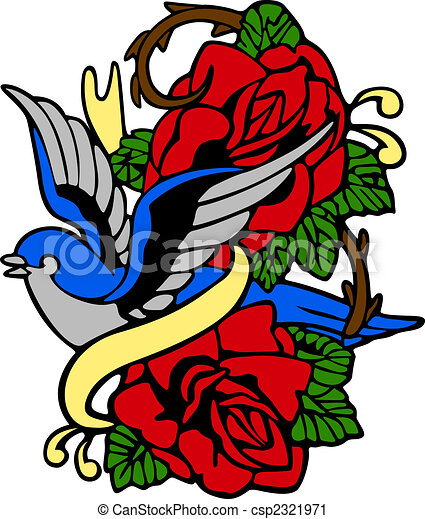 Classic tribal emblem  - csp2321971