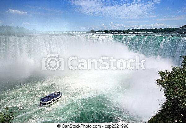 Niagara Falls tourism - csp2321990