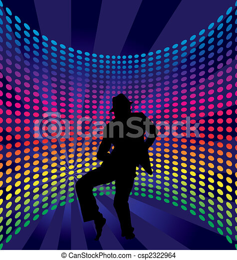 Nightclub dancers - csp2322964