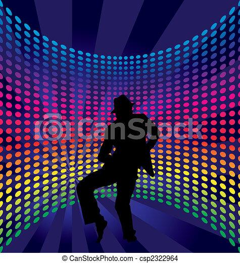 Nightclub dancers - csp2322964