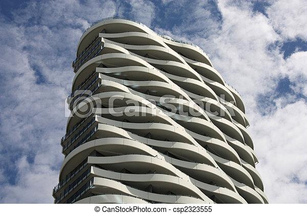 Images de moderne architecture original b timent for Architecture de batiment moderne