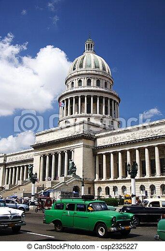 Cuba capitol - csp2325227