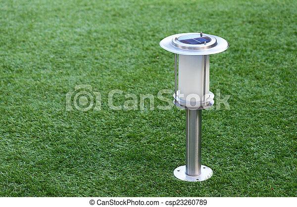 Images de fond lampe jardin solaire actionn solaire actionn csp23260789 for Lampe solaire jardin aulnay sous bois