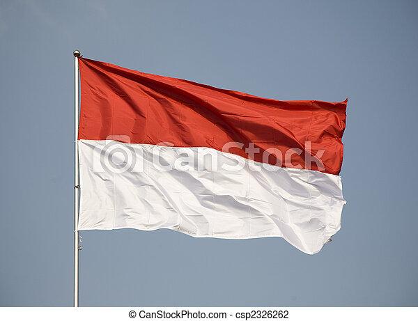 Indonesian flag - csp2326262