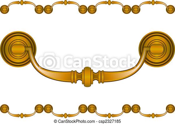 Decorative Drawer Handle - csp2327185