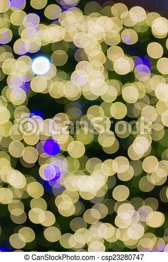 De Focus of Neon light Blurred background