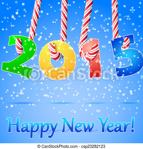 Clip Art of 2015 Happy New Year background. - 2015 Happy New Year ...