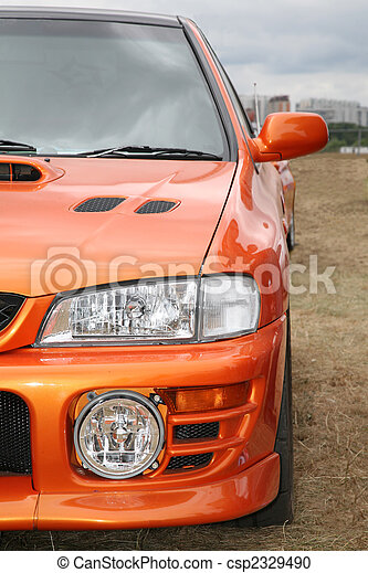 オレンジ, 自動車 - csp2329490