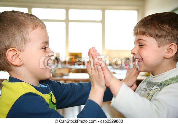 two playing boys - csp2329888