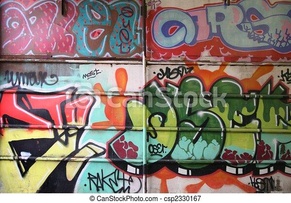 wall graffiti - csp2330167
