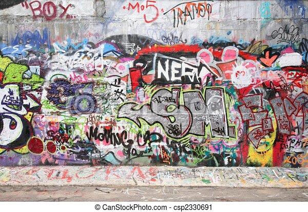 city graffiti 2 - csp2330691