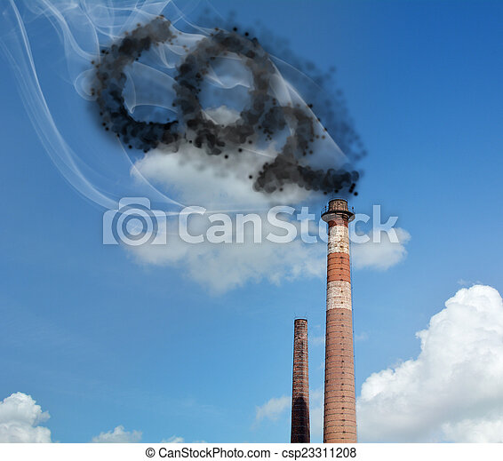 Carbon Dioxide - csp23311208