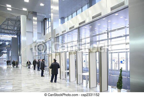 セキュリティー, 入口, 役人 - csp2331152