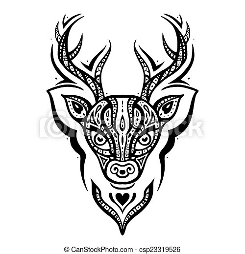 Lace likewise Couple Drawings besides Deer silhouettes vector material together with Panther Tattoo Symbol Decoration 14115096 moreover Deer Skull Stencil. on deer head pattern