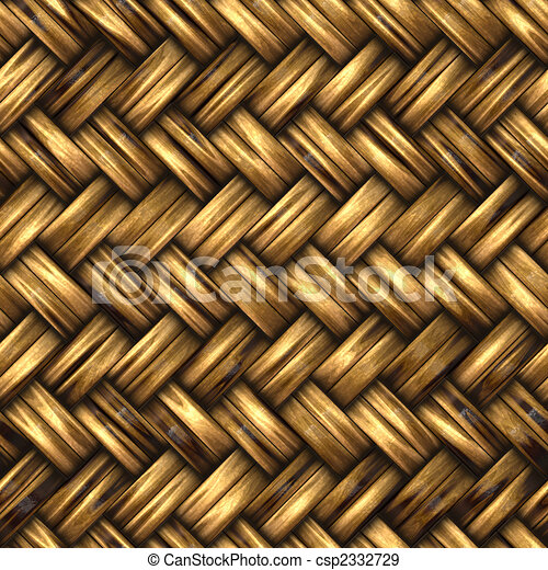 A woven wicker material - csp2332729