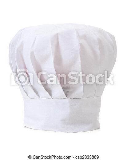 Chef\'s Hat on WHite - csp2333889