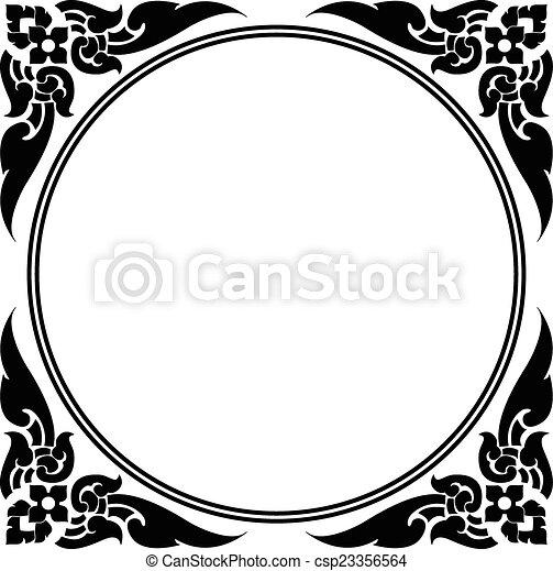 Artistic Circle Clip Art