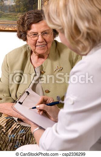 nursing home - csp2336299