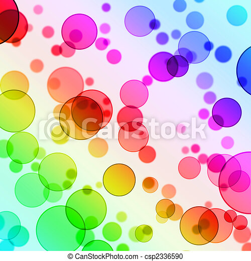 Abstract Circles Background - csp2336590
