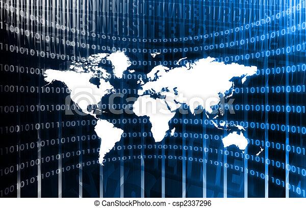 Worldwide Network - csp2337296