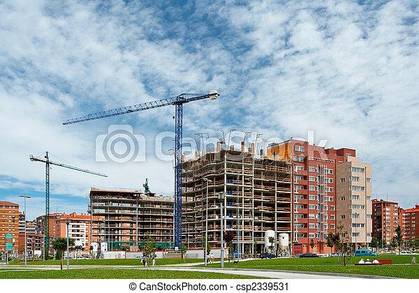 construção edifício - csp2339531